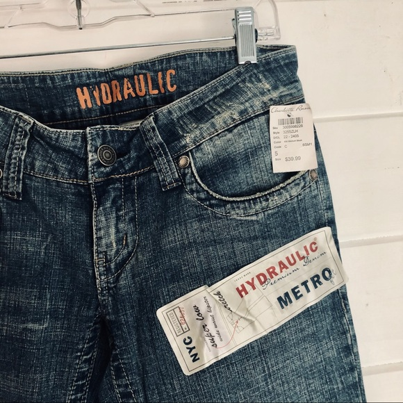 Hydraulic Denim - 🚫SOLD🚫Hydraulic Jeans Super Low Metro Distressed